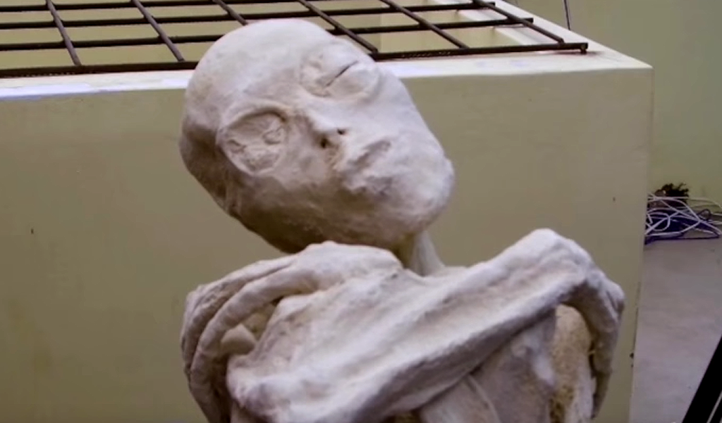 El misterio de la momia extraterrestre de Nazca