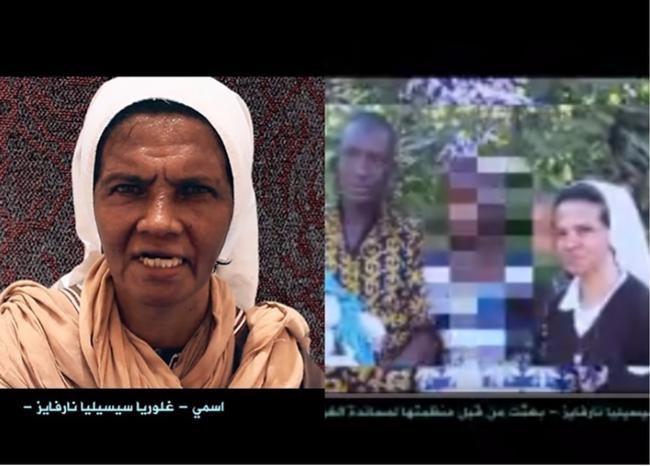 Investigan video de monja secuestrada por Al Qaeda