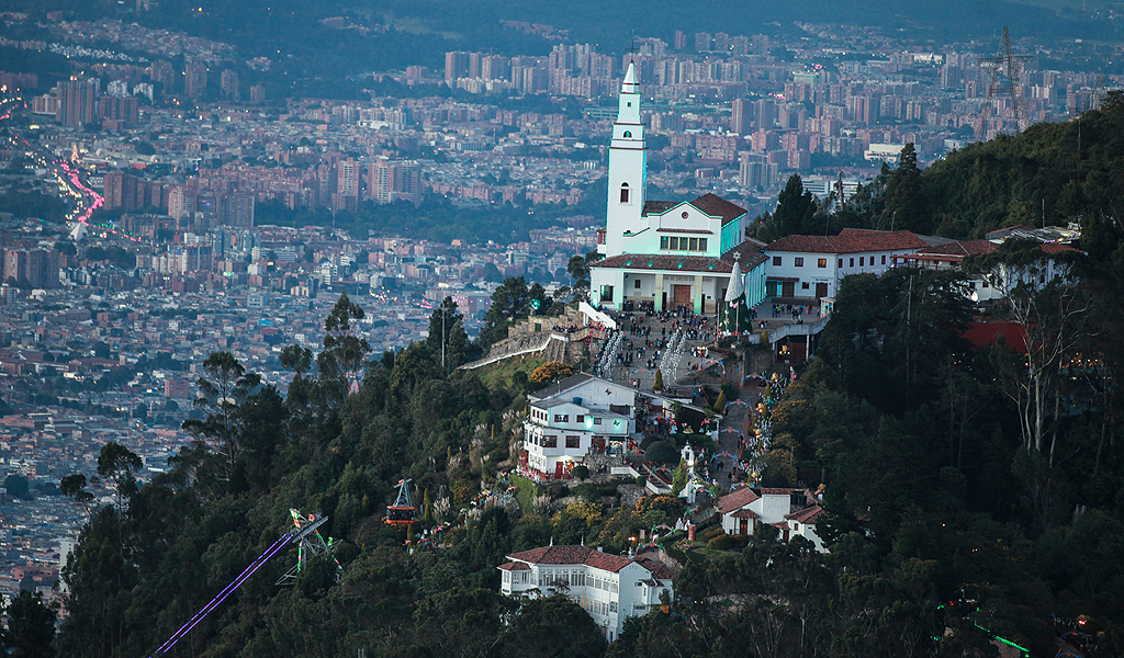 Cerros orientales de Bogotá, patrimonio de 50 millones de años