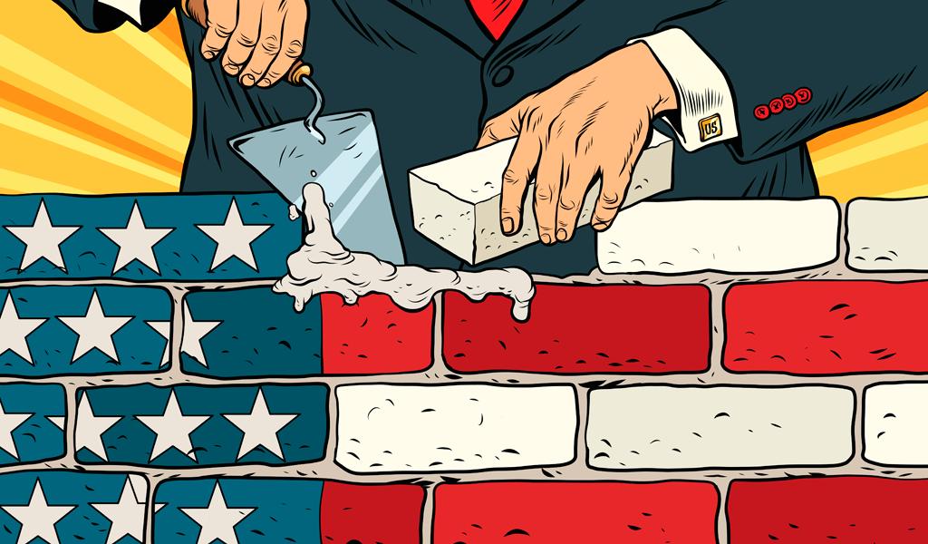 Cambio de financiación para construcción del muro de Trump