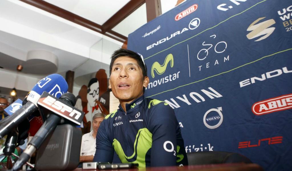 """Nairo Quintana: """"Hay que ser buenos perdedores"""""""