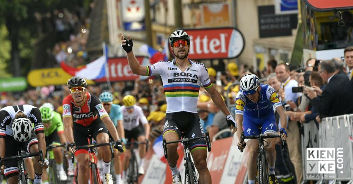 Peter Sagan gana la etapa 3 del Tour de Francia