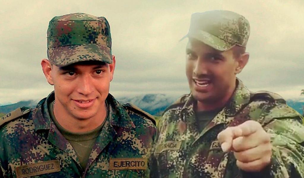 Alejandro Estrada amenaza al soldado Rodríguez