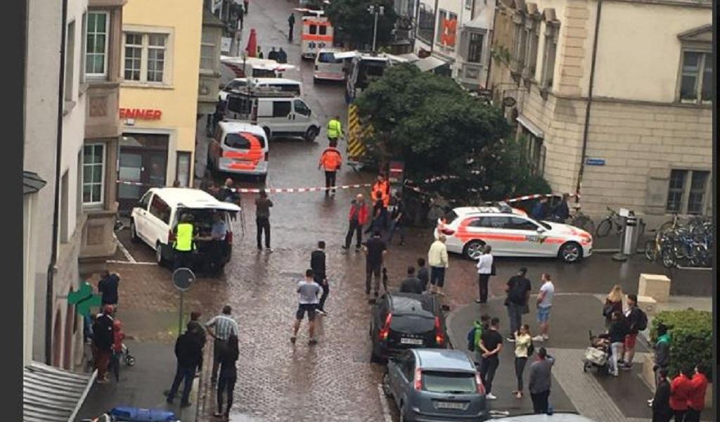 Cinco heridos en ataque con motosierra en Suiza