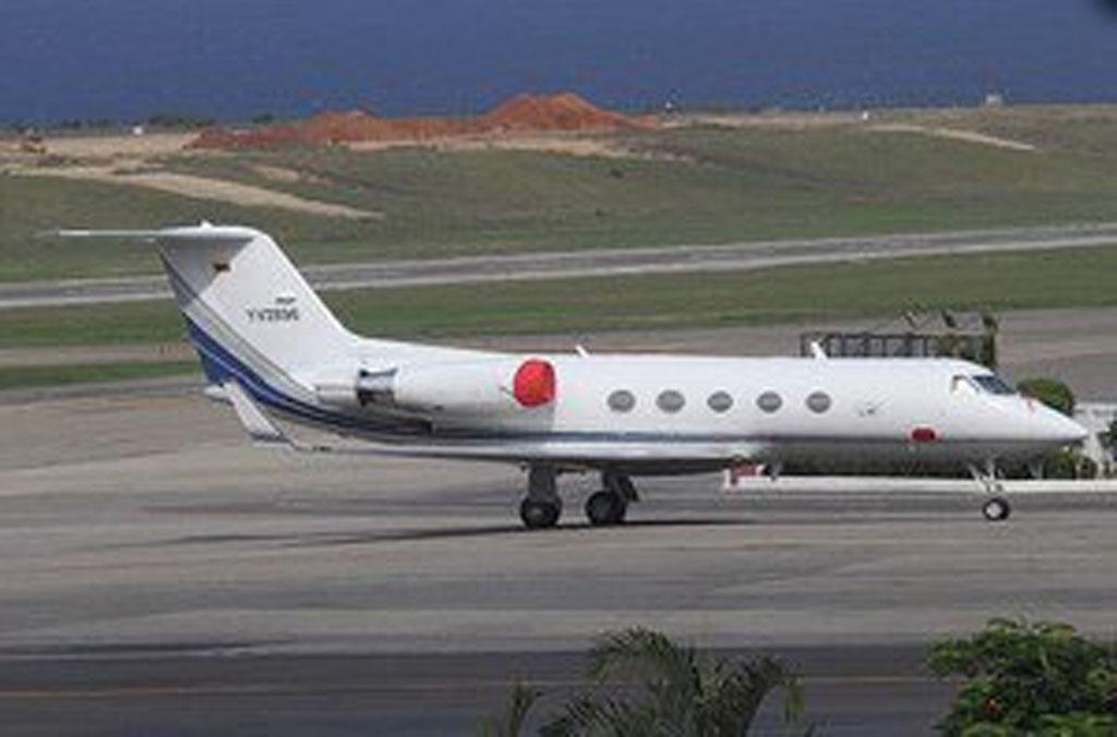 ¿Dónde está el avión del Gobierno venezolano accidentado?