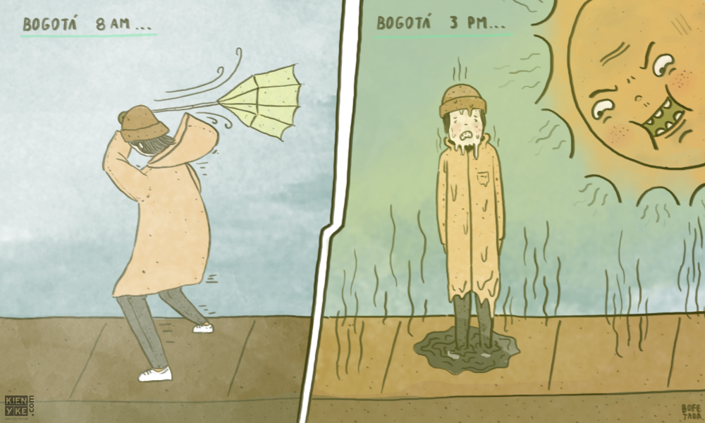 Bogotá ciudad bipolar
