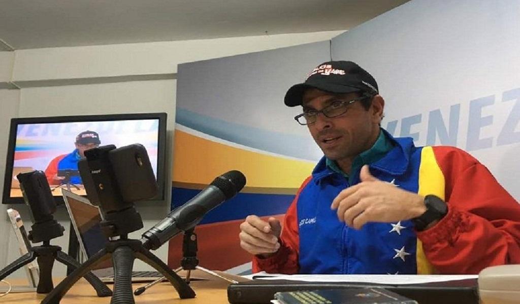Capriles culpa al vicepresidente El Aissami de ataque a AN