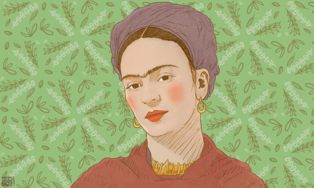 """""""Donde no puedas amar, no te demores"""": Frida Kahlo"""
