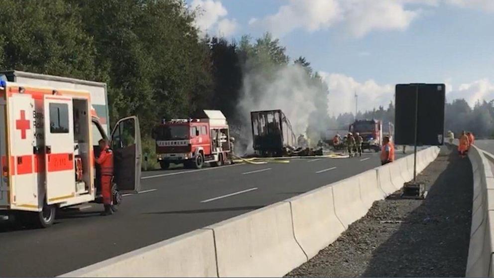 18 muertos deja accidente de tránsito en Alemania
