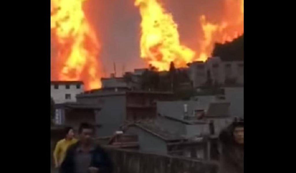Ocho muertos por explosión de gas en China