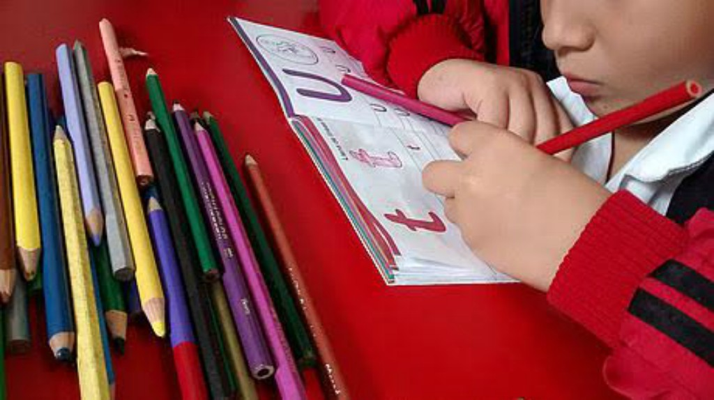 Lenguaje de colores para niños sordos