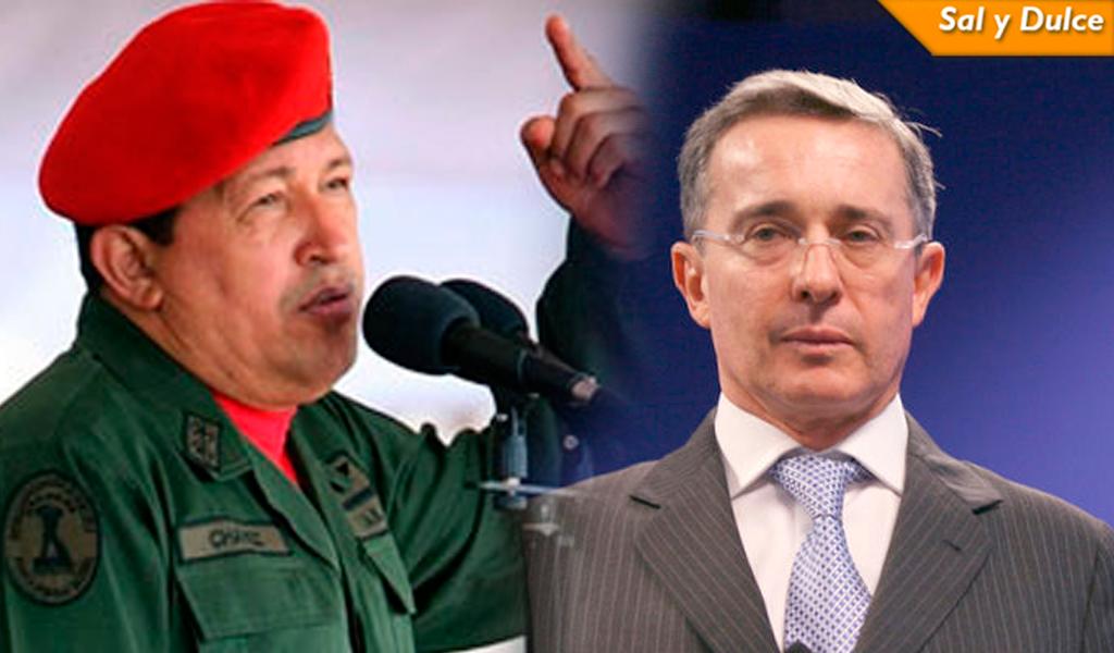 """Daniel Samper compara a Uribe con Chávez, """"su gemelo en maneras"""""""