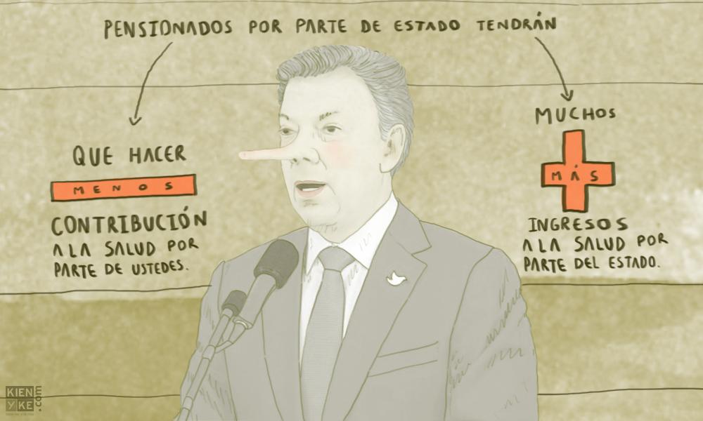 Santos objeta ley para pensionados