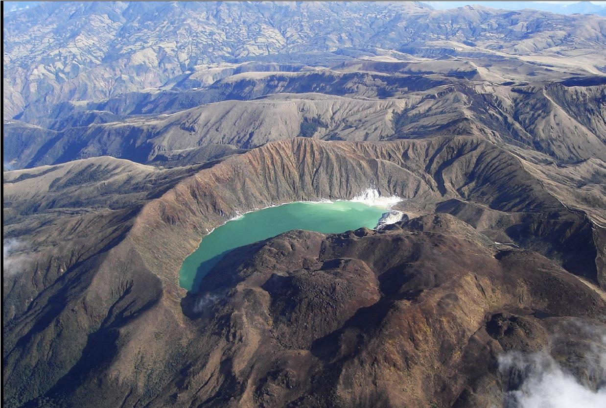 Volcán Azufral volvería a ser peligroso