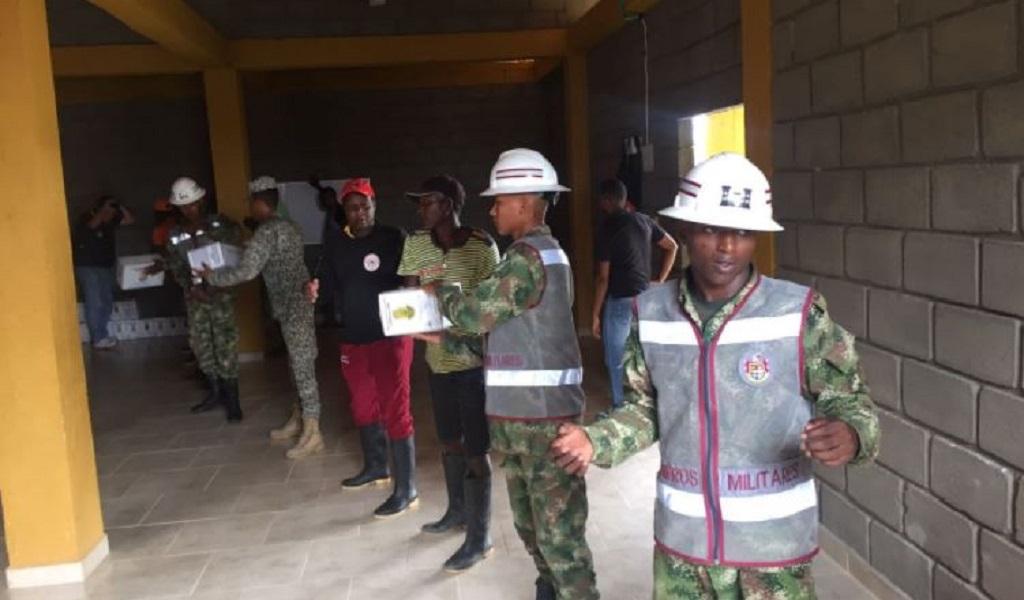 Damnificados por invierno en Chocó reciben ayudas