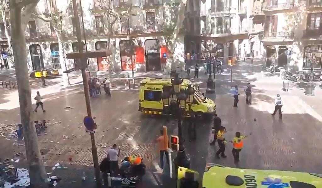 Atentado en Barcelona deja 13 muertos y más de 100 heridos