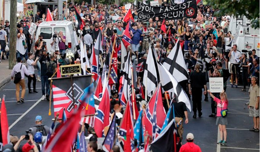 """""""Vamos a volver a Charlottesville"""": líder ultraderechista"""