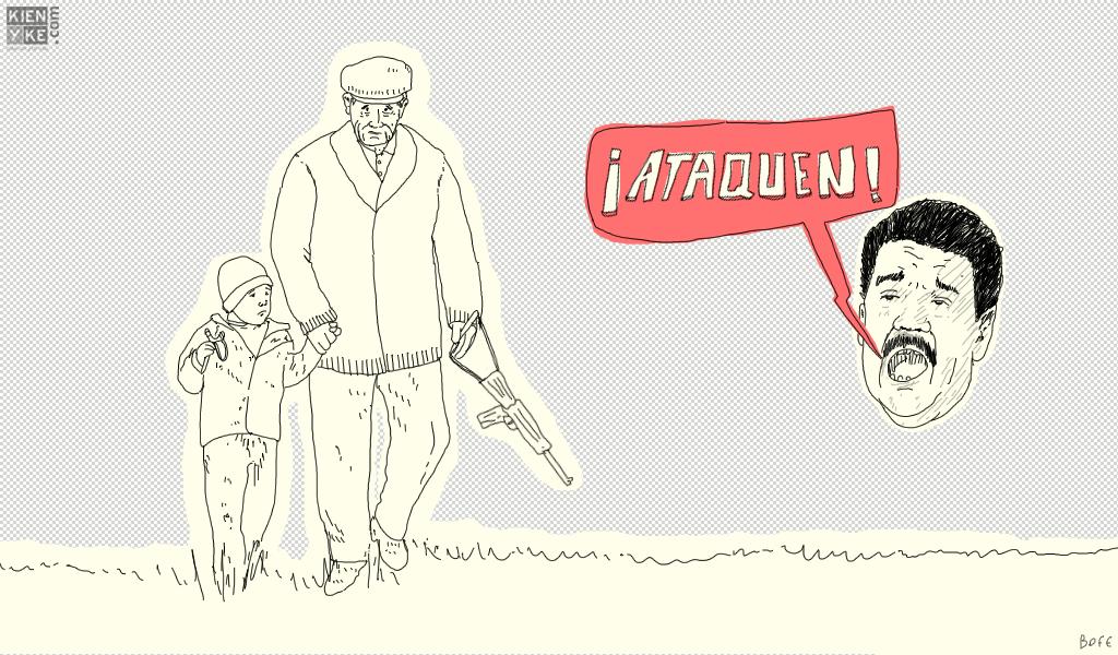 La avanzada de Maduro …