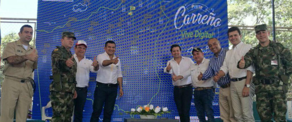 Puerto Carreño se conecta con el mundo