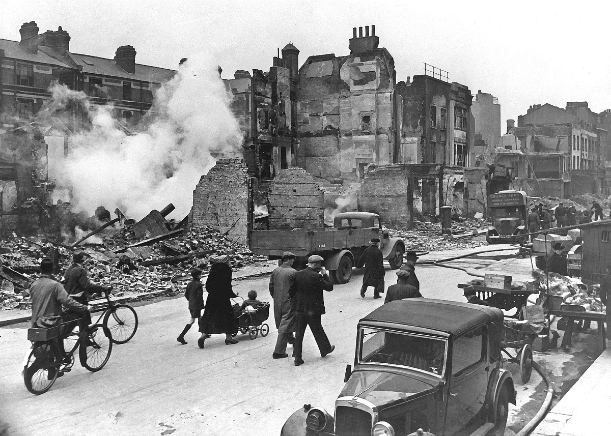 Cuando los nazis destruyeron una ciudad entera