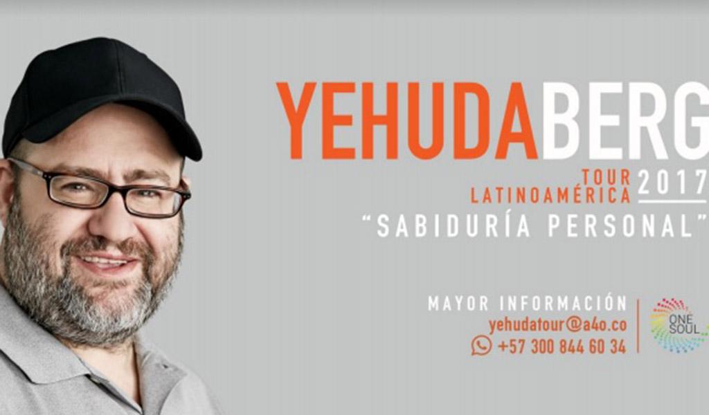 El guía espiritual israelí  Yehuda Berg regresa a Colombia