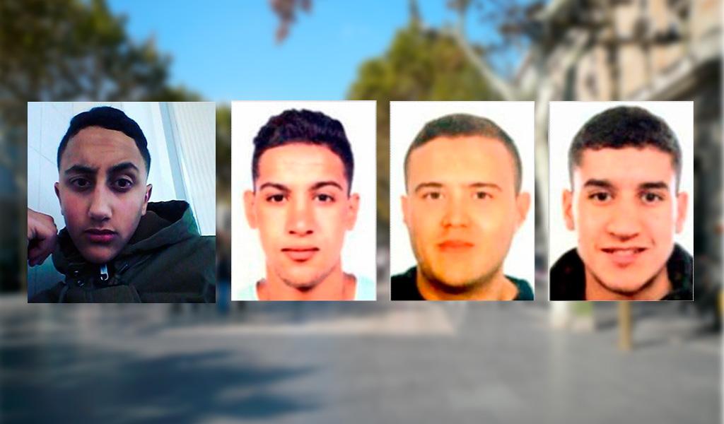 Detenidos por atentado en Barcelona se encuentran en los tribunales