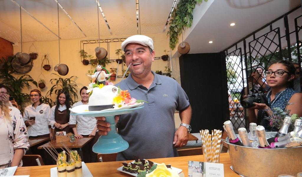 El famoso pastelero Buddy Valastro está en Medellín
