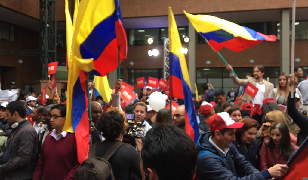 cr-juventudes/ evento de inscripción del comité de recolección de firmas para la candidatura de Vargas Lleras
