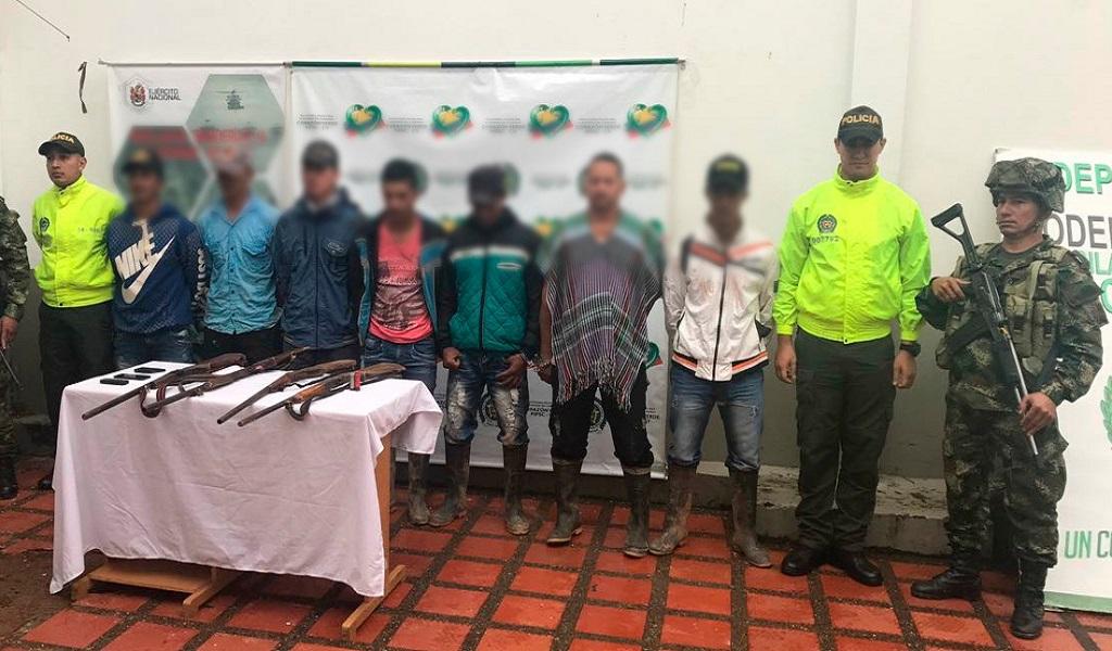 Cae banda 'Los Conejos', aliada del ELN en Antioquia