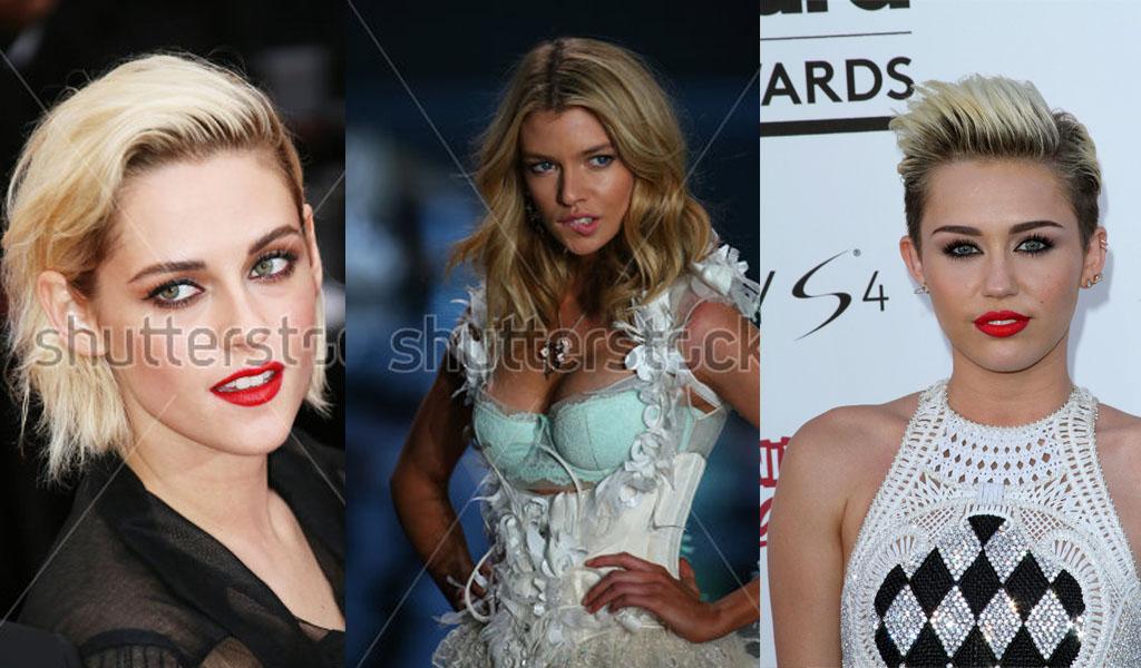 Filtran fotos íntimas de Miley Cyrus, Kristen Stewart y Stella Maxwell