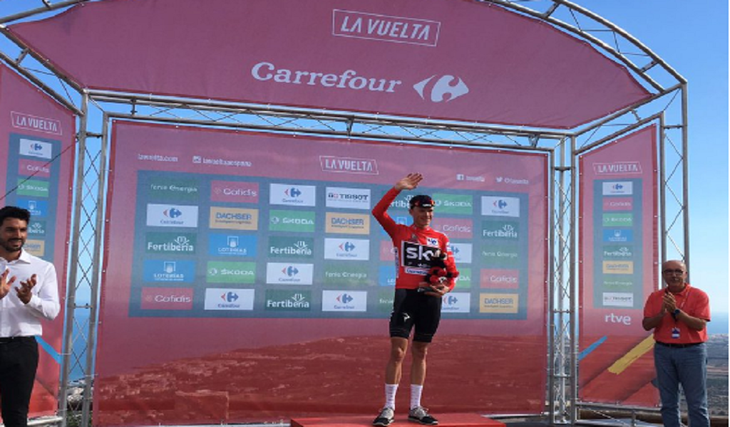 Chris Froome etapa 6 vuelta a españa
