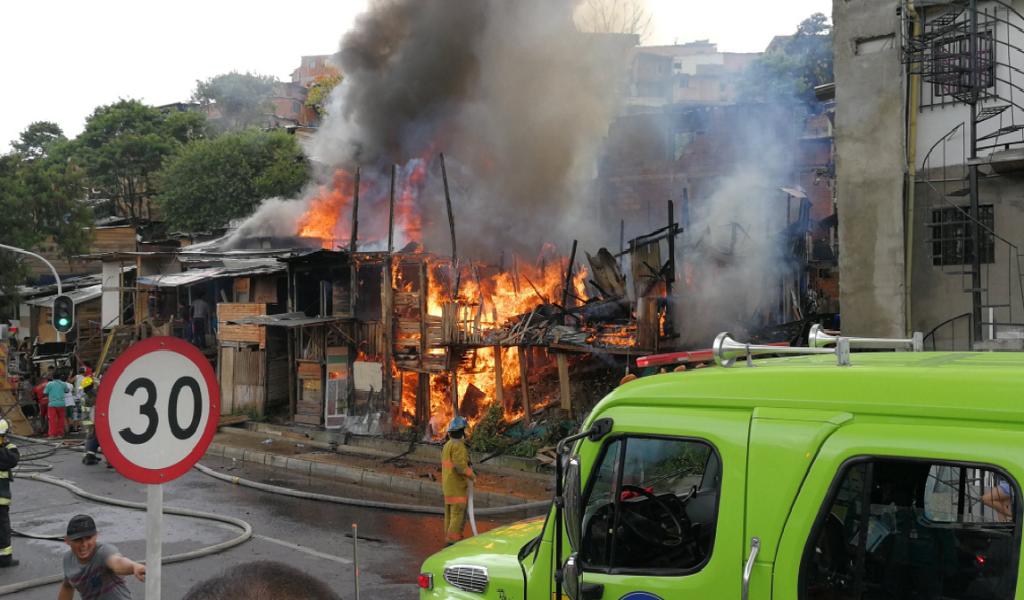 Incendio en Moravia fue controlado