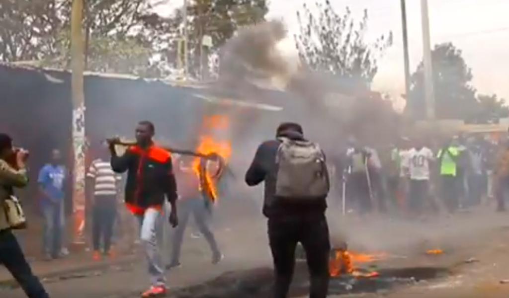 Disturbios en Kenia
