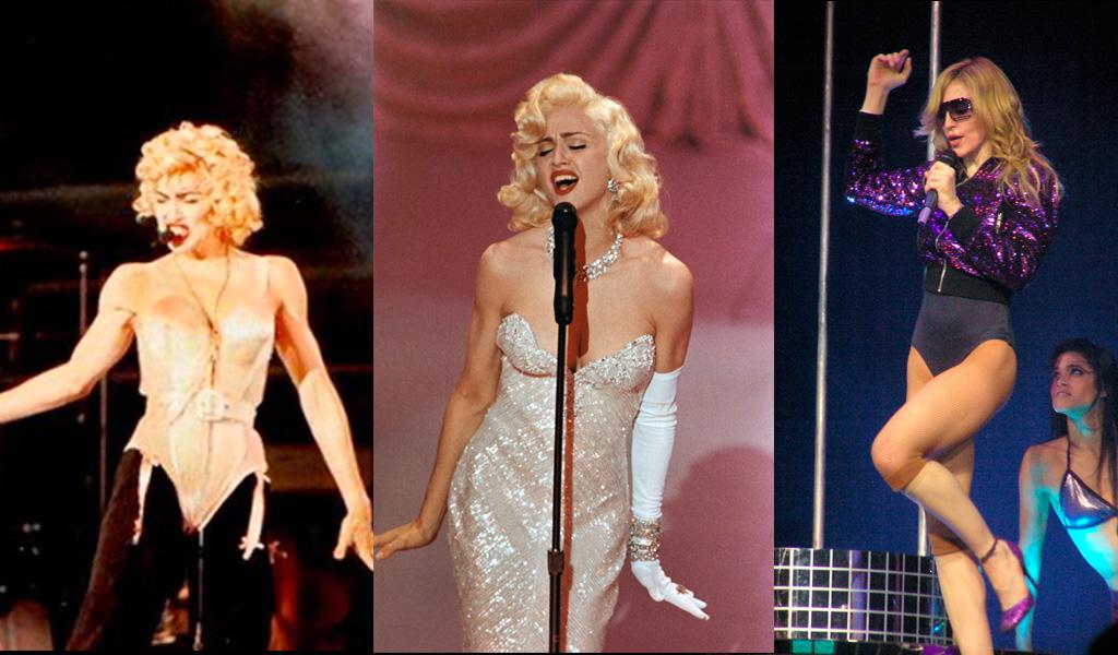 El poder de Madonna y sus diez looks más icónicos