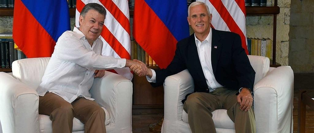 Santos pide a EE.UU no intervenir militarmente en Venezuela