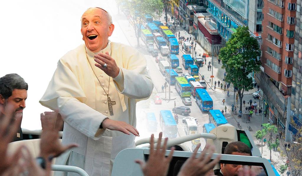 Estos serán los carros que usará el papa Francisco