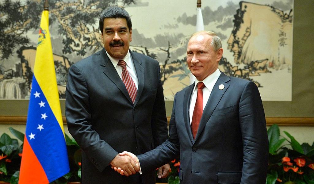 http://en.kremlin.ru/ relación entre Venezuela y Rusia