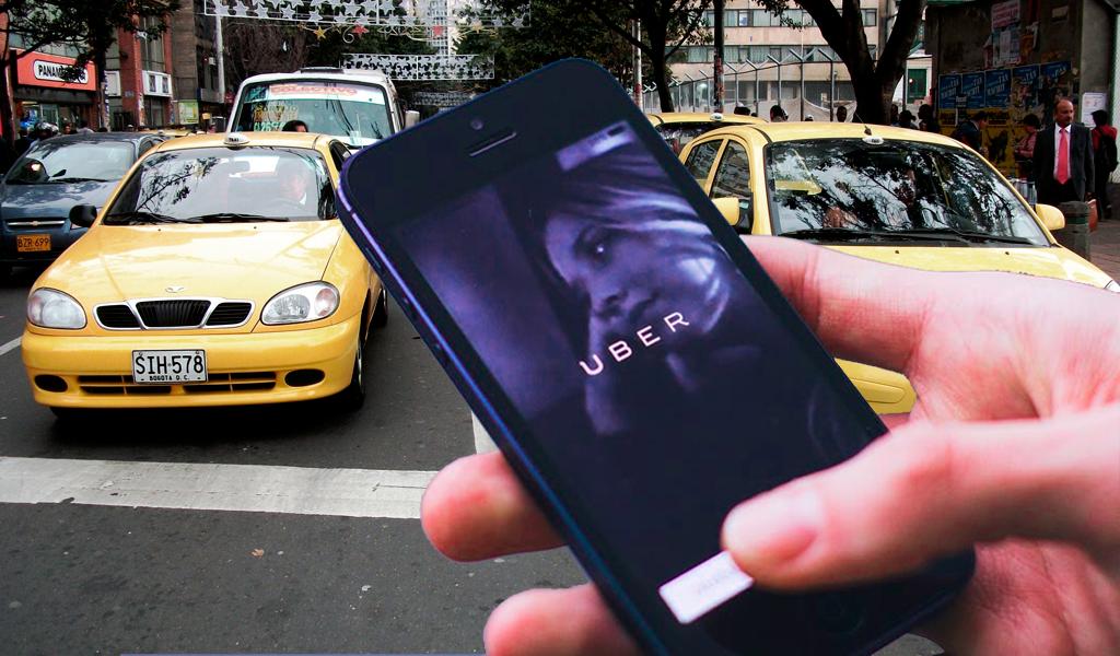 Pelea entre taxistas y Uber deja capturados y daños