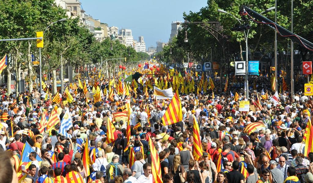 El lunes se declararía independencia de Cataluña