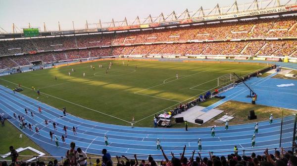 Metropolitano estadio Selección Colombia