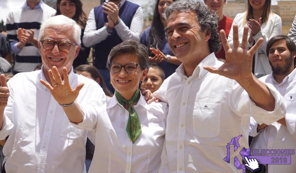 Lista la alianza entre Robledo, López y Fajardo