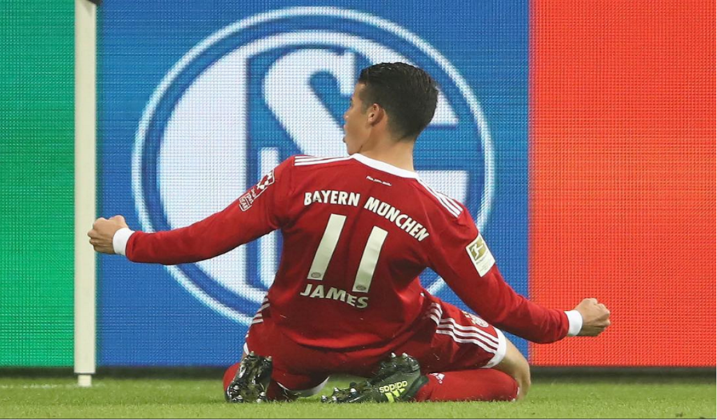 James Rodríguez Bayern Múnich
