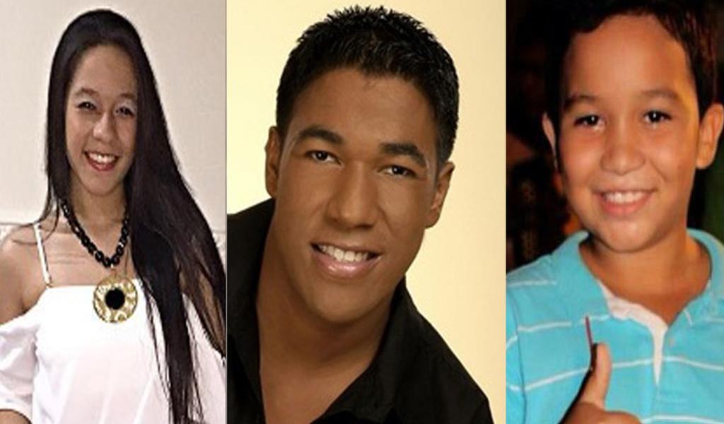 Ellos son los hijos de Kaleth Morales