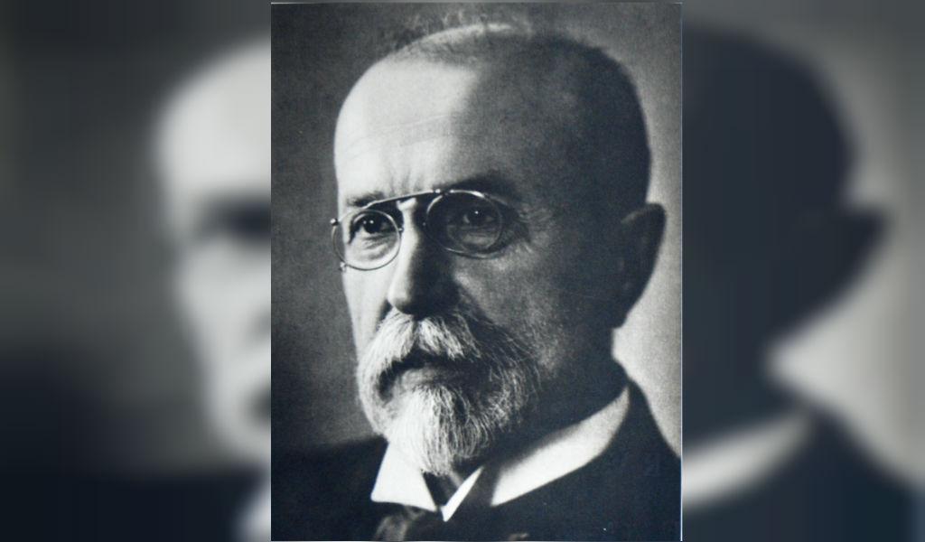 Tomáš Masaryk, el fundador de Checoslovaquia