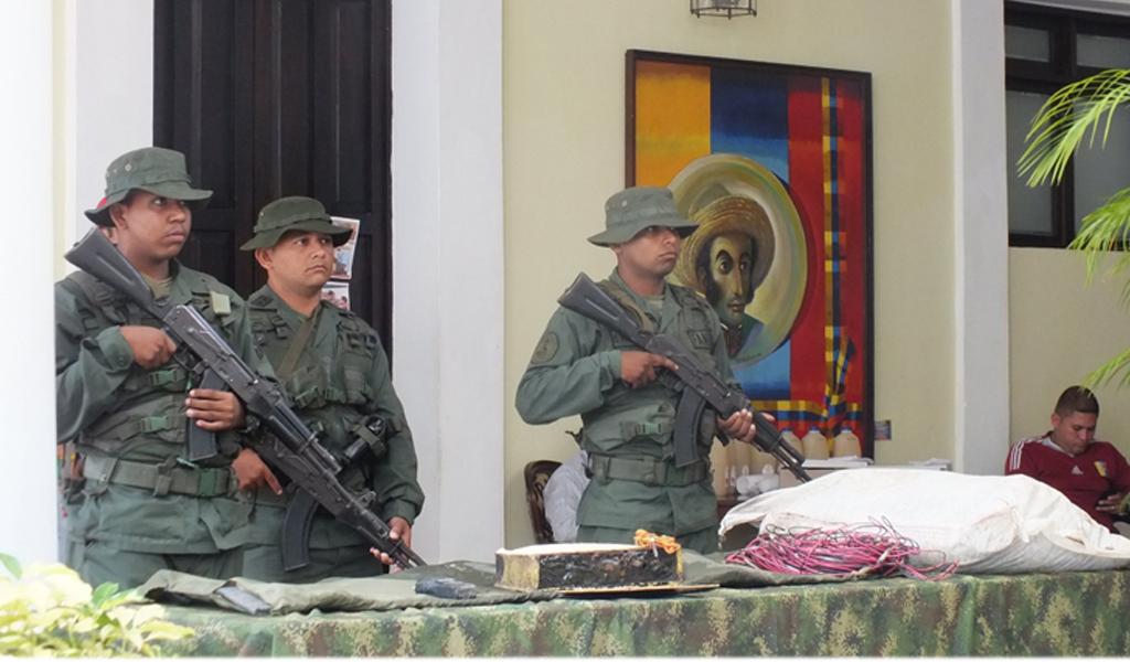 Evitan posible atentado en partido Colombia-Venezuela