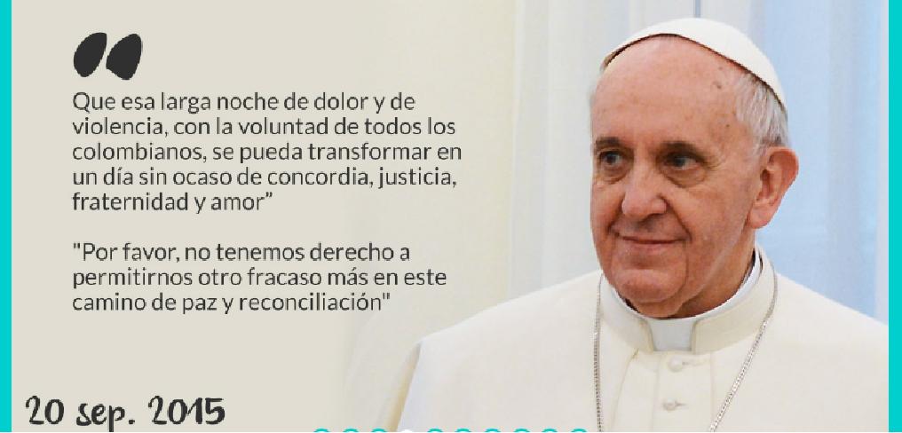 El Papa Francisco Emprende Su Viaje A Colombia