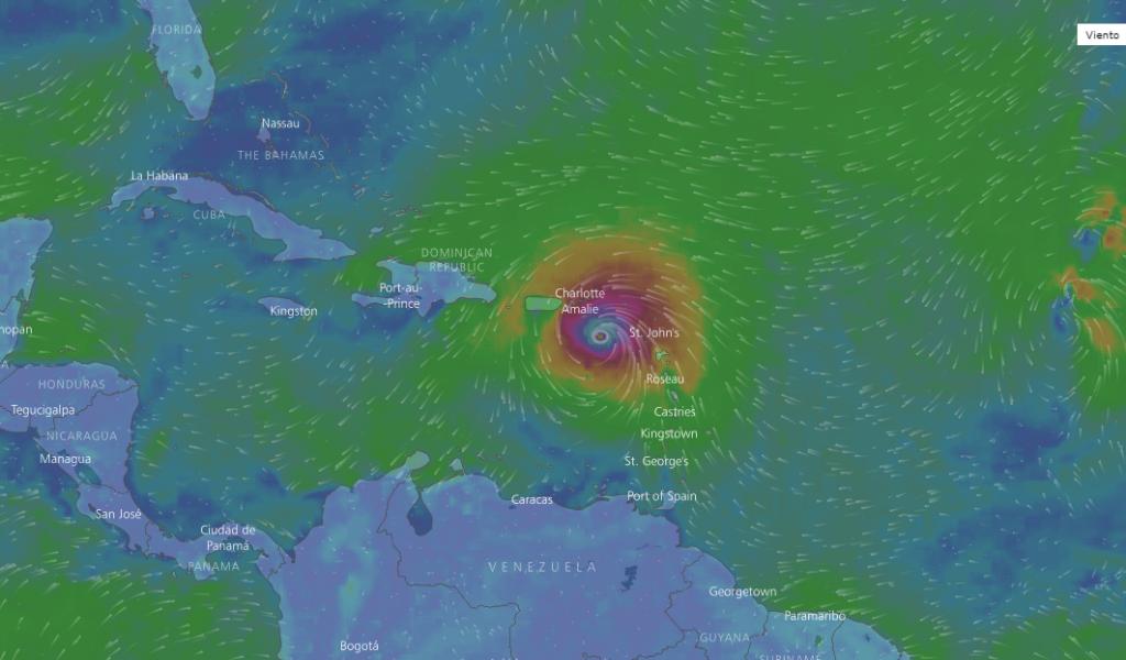 República Dominicana se prepara para la llegada del huracán María