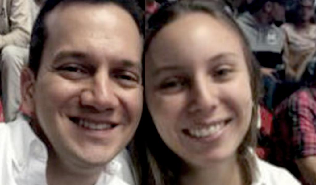 Foto : Twitter/ Senador Alfredo Ramos y su esposa Juliana Hernández