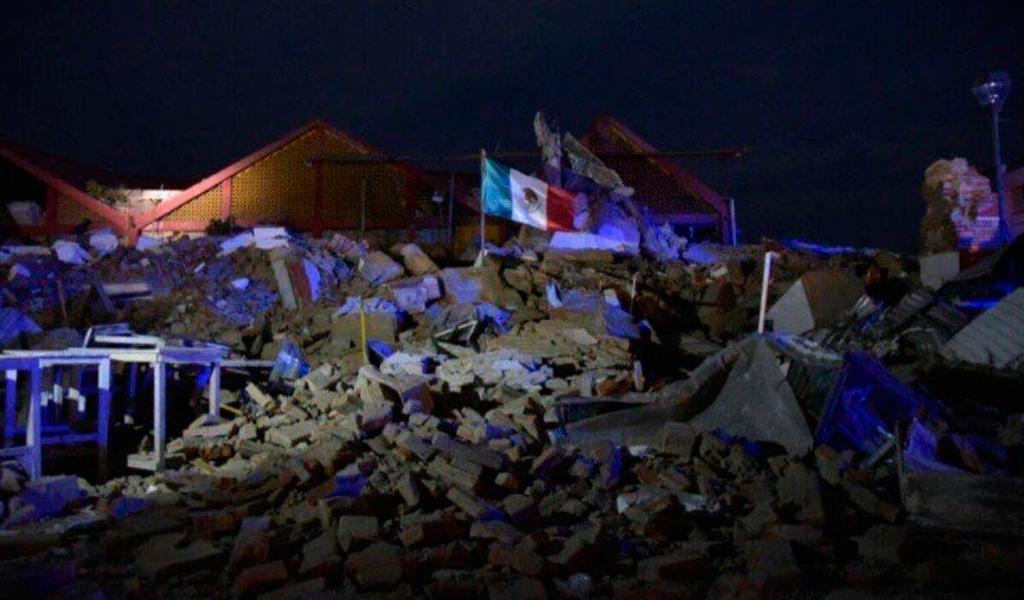 temblor- México
