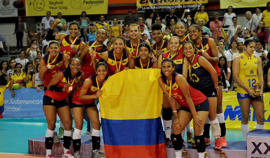 COLOMBIA-VOLEIBOL